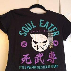 soul eater graphic tee